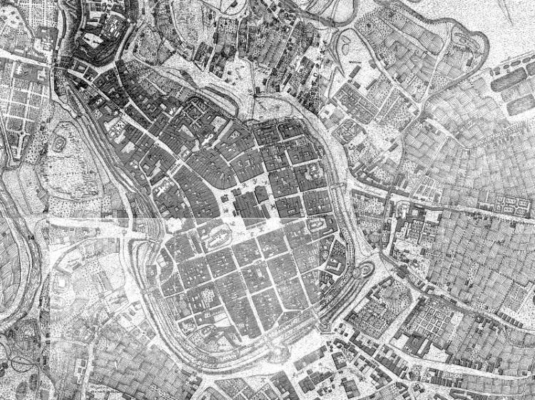 Plan Miasta Krakowa z 1785r.