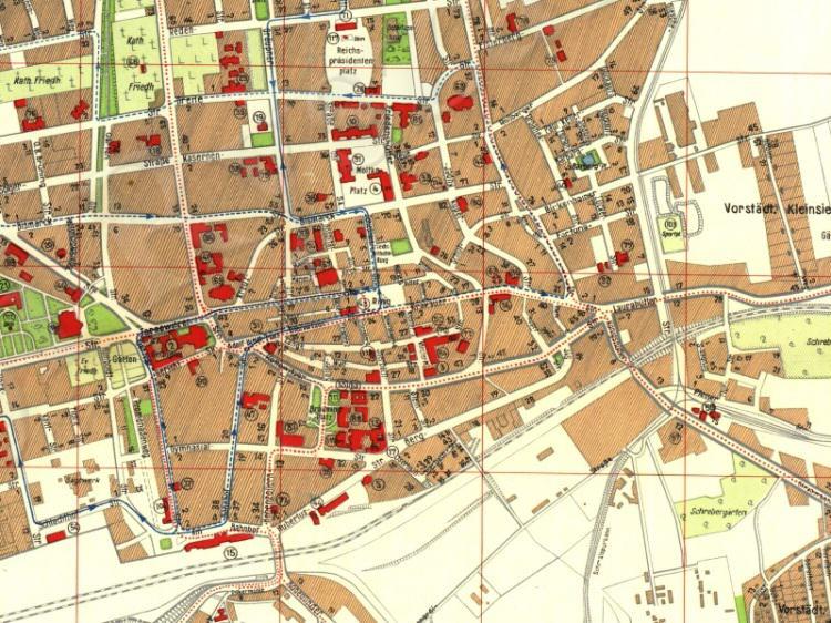 Plan Miasta Bytomia z 1941r.