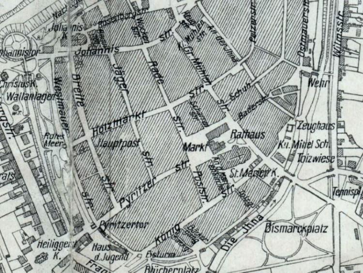 Plan Miasta Stargardu z 1939r.